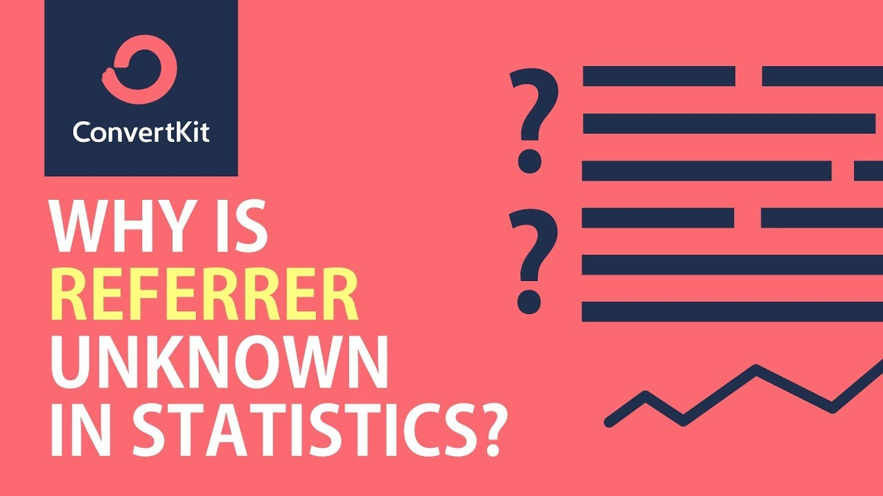 Why is the referrer header 'unknown' in ConvertKit's form visitor statistics?