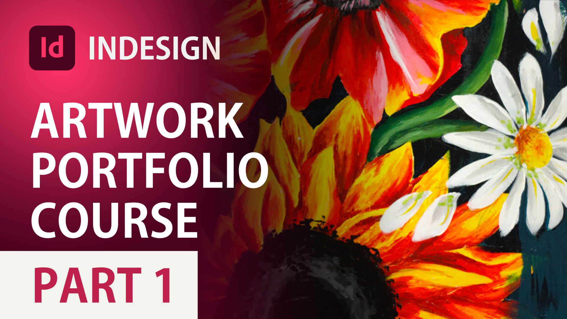 Create Art Portfolio for University in Adobe InDesign (Part 1): INTRODUCTION to InDesign Course