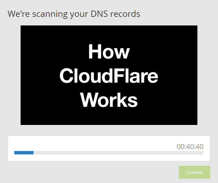 Cloudflare scanning your DNS records
